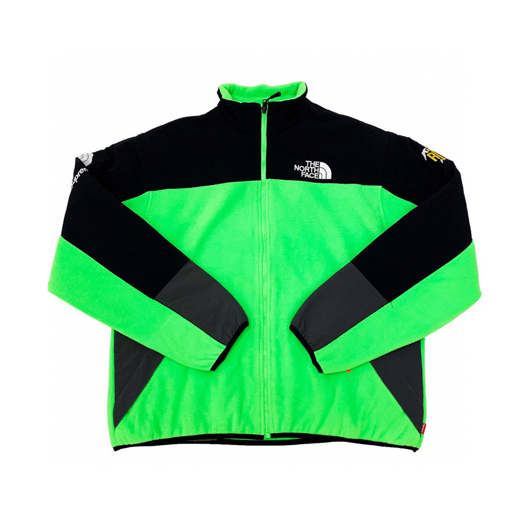 Supreme The North Face RTG Fleece Jacket Bright Green