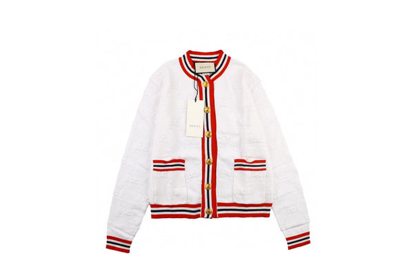 Gucci Sylvie Web knitted cardigan mid-length