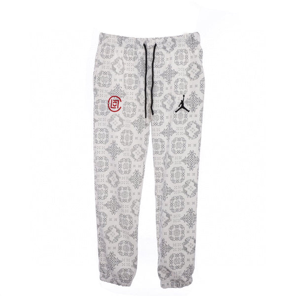 Clot x Air jordan sweat pant White