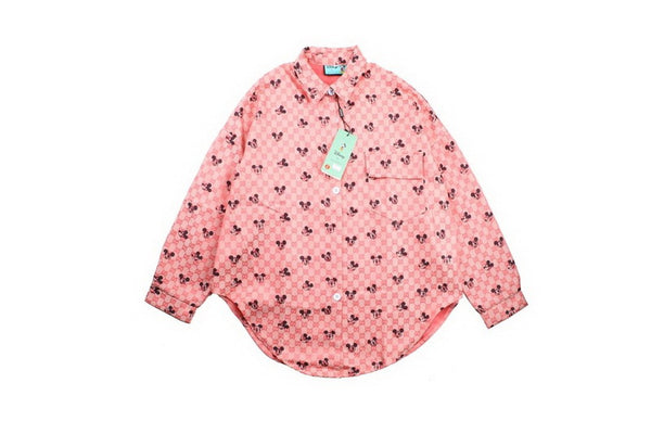 Disney x Gucci Shirt Pink