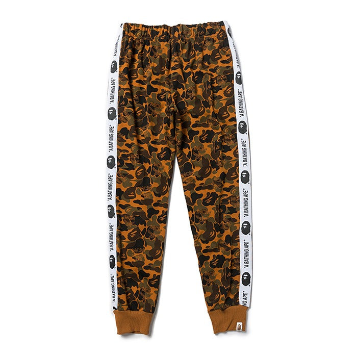 Bape Yellow Camo Sweat Pant