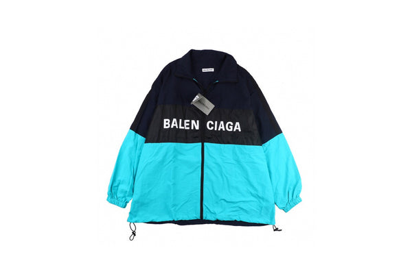 Balenciaga Logo windbreaker jacket
