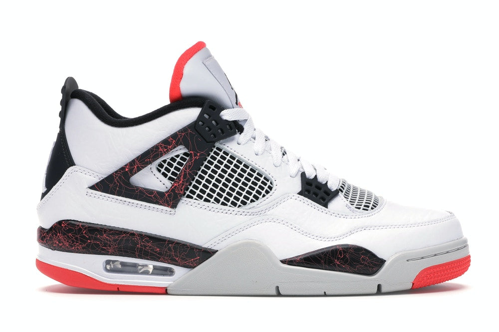 "Air Jordan 4 ""Bright Crimson/Pale Citron"""