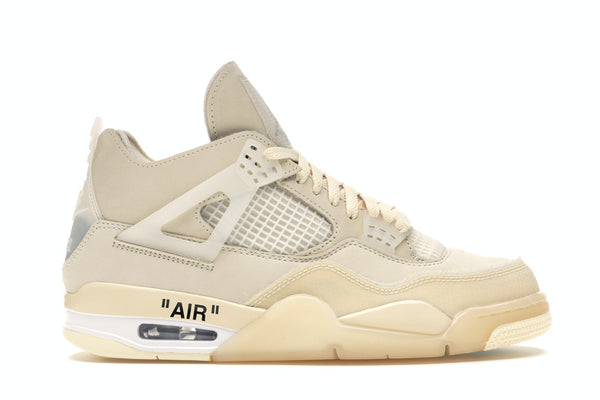 "Off-White x Air Jordan 4 WMNS ""Sail"""