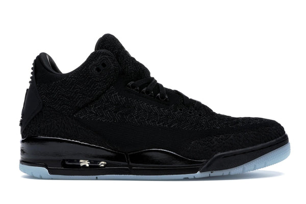 "Air Jordan 3 Retro Flyknit ""Black Cat"""