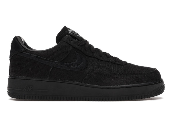"NIKE AIR FORCE 1 LOW ""Stussy - Black"""