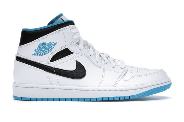 "Air Jordan 1 Mid ""Laser Blue"""