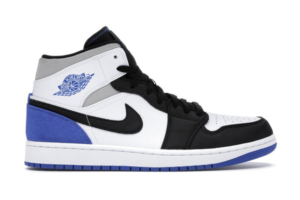 "Air Jordan 1 MID SE ""Game Royal Black Toe"""