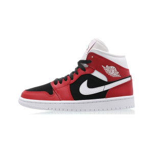 "WMNS Air Jordan 1 Mid ""Gym Red / Black"""