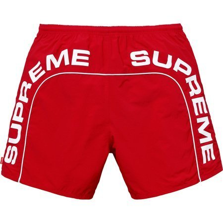 Supreme Arc Logo Water Short (SS20) Red