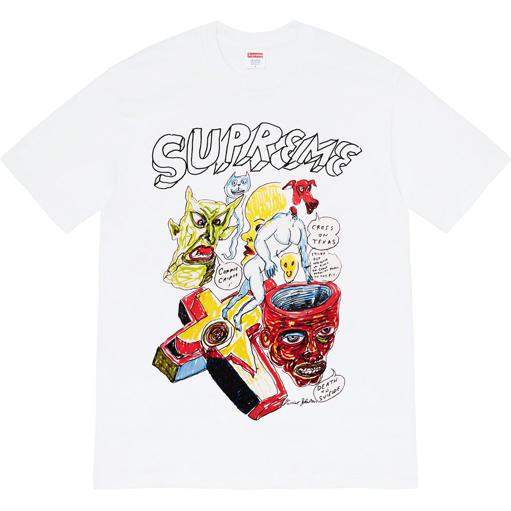 Supreme Daniel Johnston Tee White