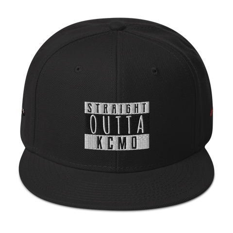 "Midwest-Newimage ""Straight Outta KCMO"" ""KCMO KING"" Snapback Hat"