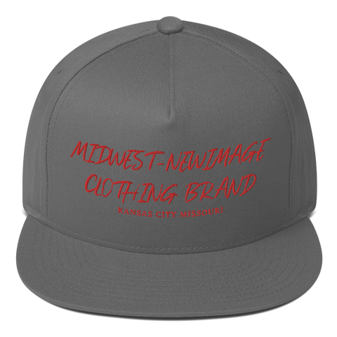 "MIDWEST-NEWIMAGE CLOTHING BRAND  ""STRAIGHT OUTTA KCMO""  Flat Bill Cap"