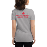"""KCMO-QUEEN"" Women's short sleeve t-shirt"