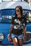 """TATTOOED DEFIANCE"" ""KCMO QUEEN"" Ladies' T-shirt"