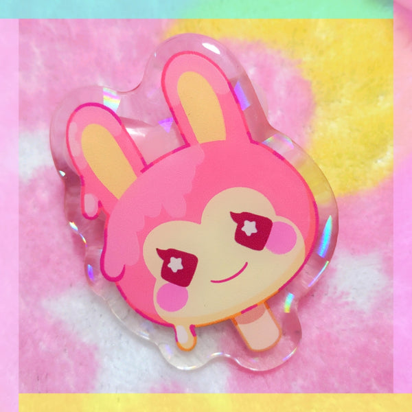 Animal Crossing: Bunnie Pop Acrylic Pin