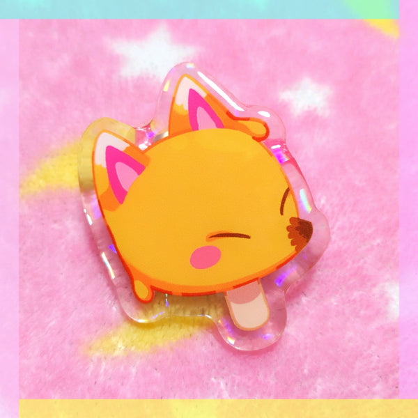 Animal Crossing: Redd Pop Acrylic Pin
