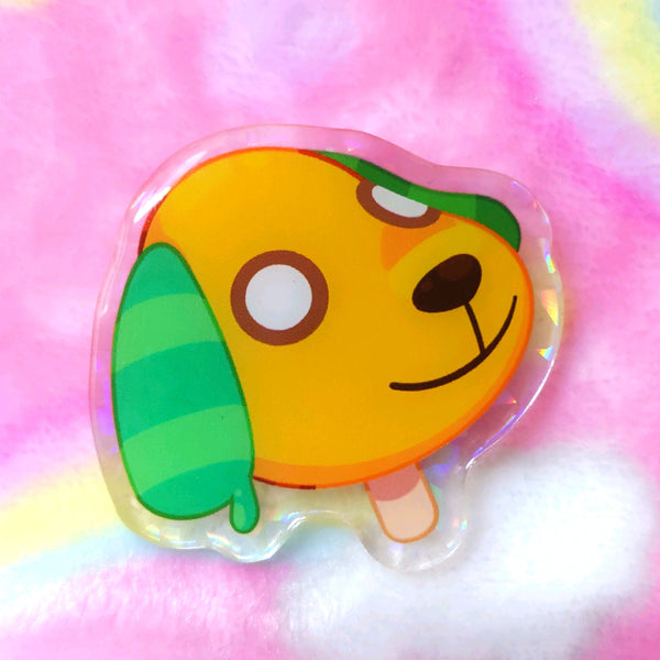 Animal Crossing: Biskit Pop Acrylic Pin