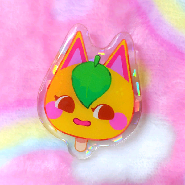 Animal Crossing: Tangy 2.0 Pop Acrylic Pin