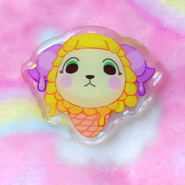 Animal Crossing: Willow Pop Acrylic Pin