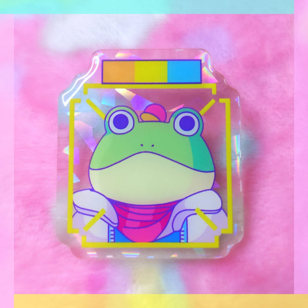 Star Fox: Slippy Acrylic Pin
