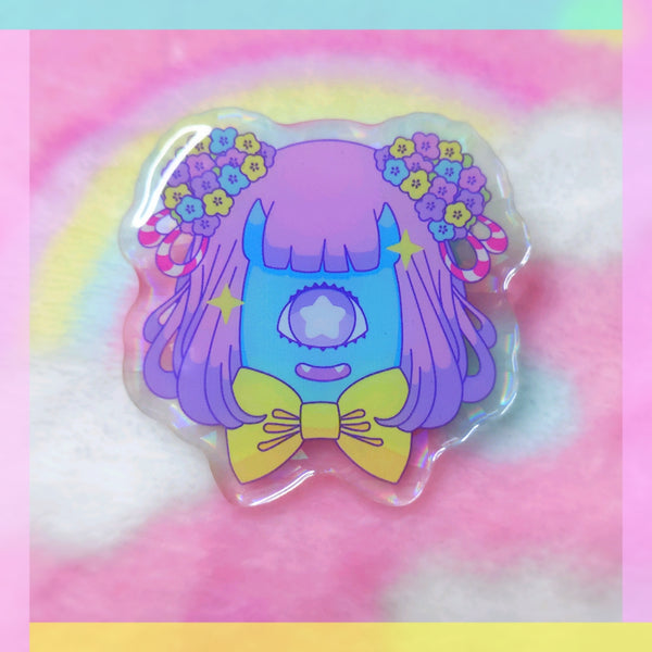 Yokai Girls: Cyclops Acrylic Pin