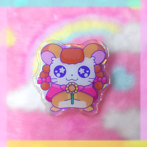 Hamham: Pepper Acrylic Pin