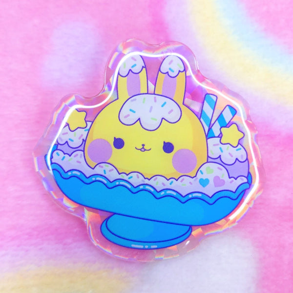 Lemon Meringue: Sundae Acrylic Pin
