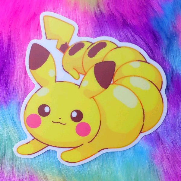 Pika: Pikapede Sticker