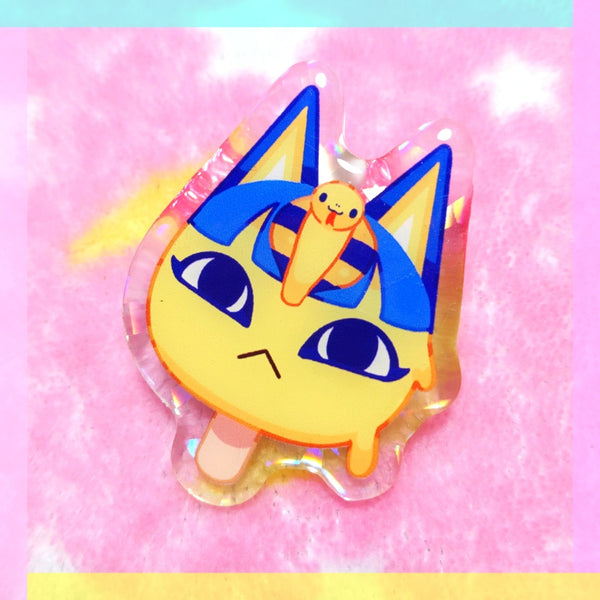 Animal Crossing: Ankha Pop Acrylic Pin