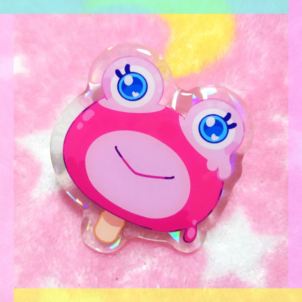 Animal Crossing: Puddles Pop Acrylic Pin