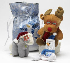 Holiday Bags Stuffed with Adorable SQUEAKY Toys