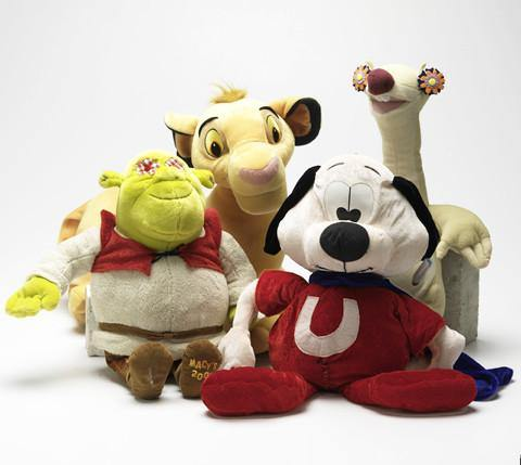 "Extra Large SQUEAKY 'Toon Town Stuffed Toys for Dogs: 15""-20"""