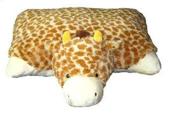 Pillow Pals Squeaky Stuffed Dog Toys: M, L & XL