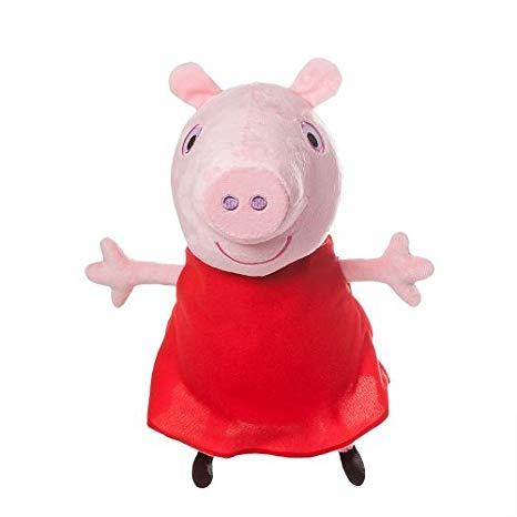 Peppa Pig & Brother George SQUEAKY Toys for Pets