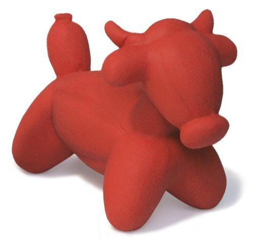 Charming All Natural Latex Bull Balloon Animal: Mini