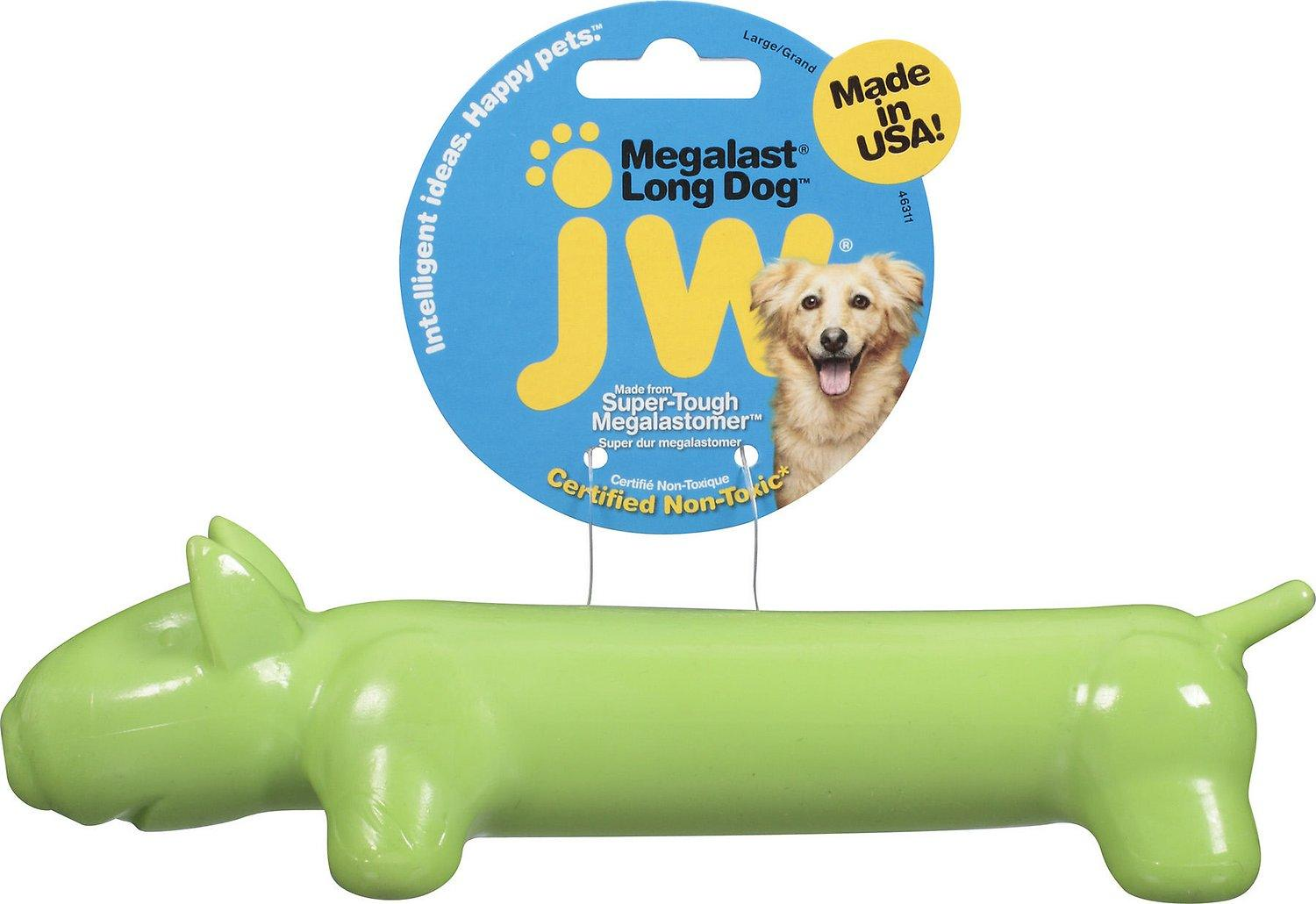 JW Megalast Long Dog Toy: 2 Sizes