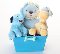 Boy oh Boy SQUEAKY Gift Basket: 3 Sizes