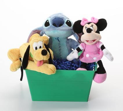 'Toon Town Cartoon Character SQUEAKY Dog & Puppy Gift Basket: 3 Sizes