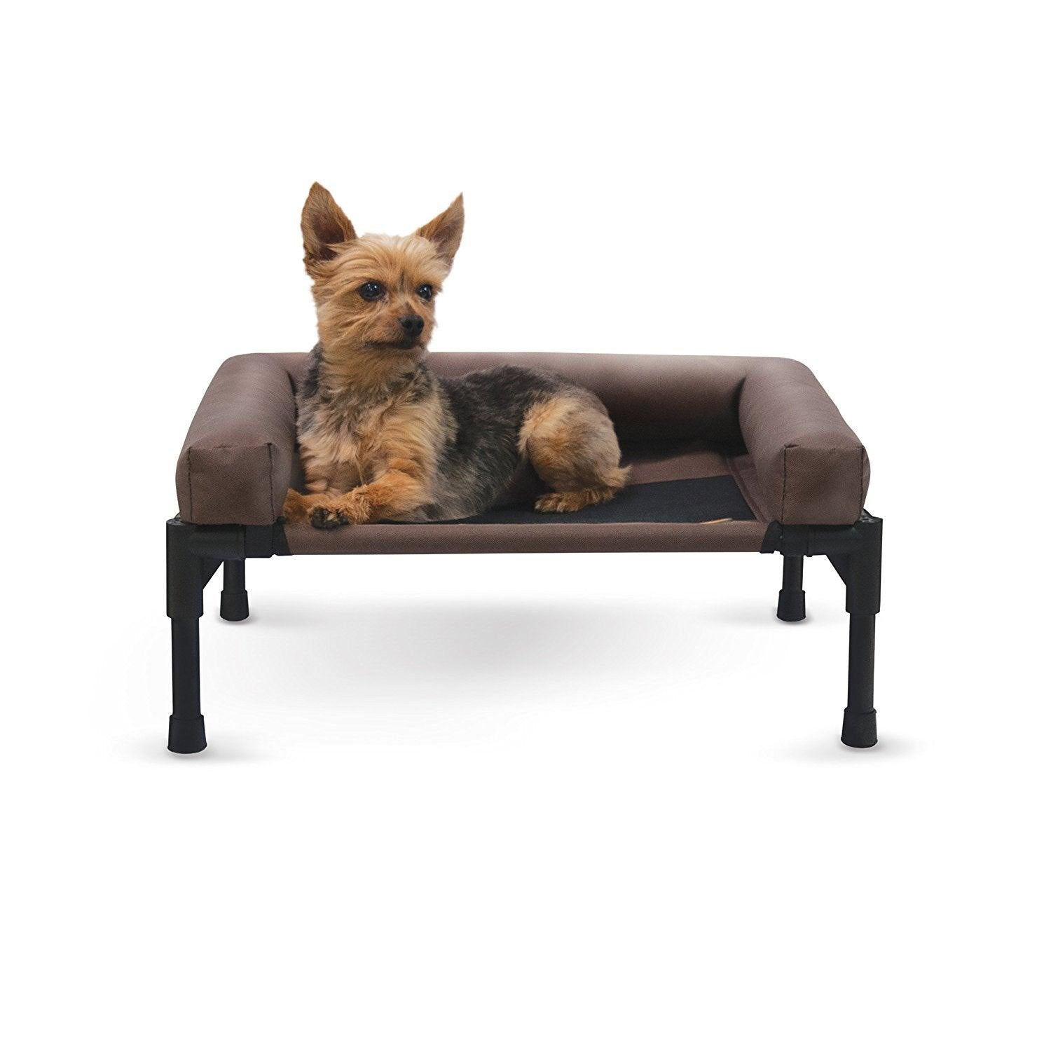 Elevated Dog Bed with Bolster for Luvnpupz Rescue