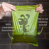 Earth Rated Eco-Friendly Leak Proof Bags for Poo Pick-Up