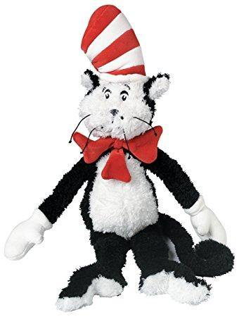 Dr. Seuss SQUEAKY Stuffed Dog Toys: Medium, Large & Extra Large