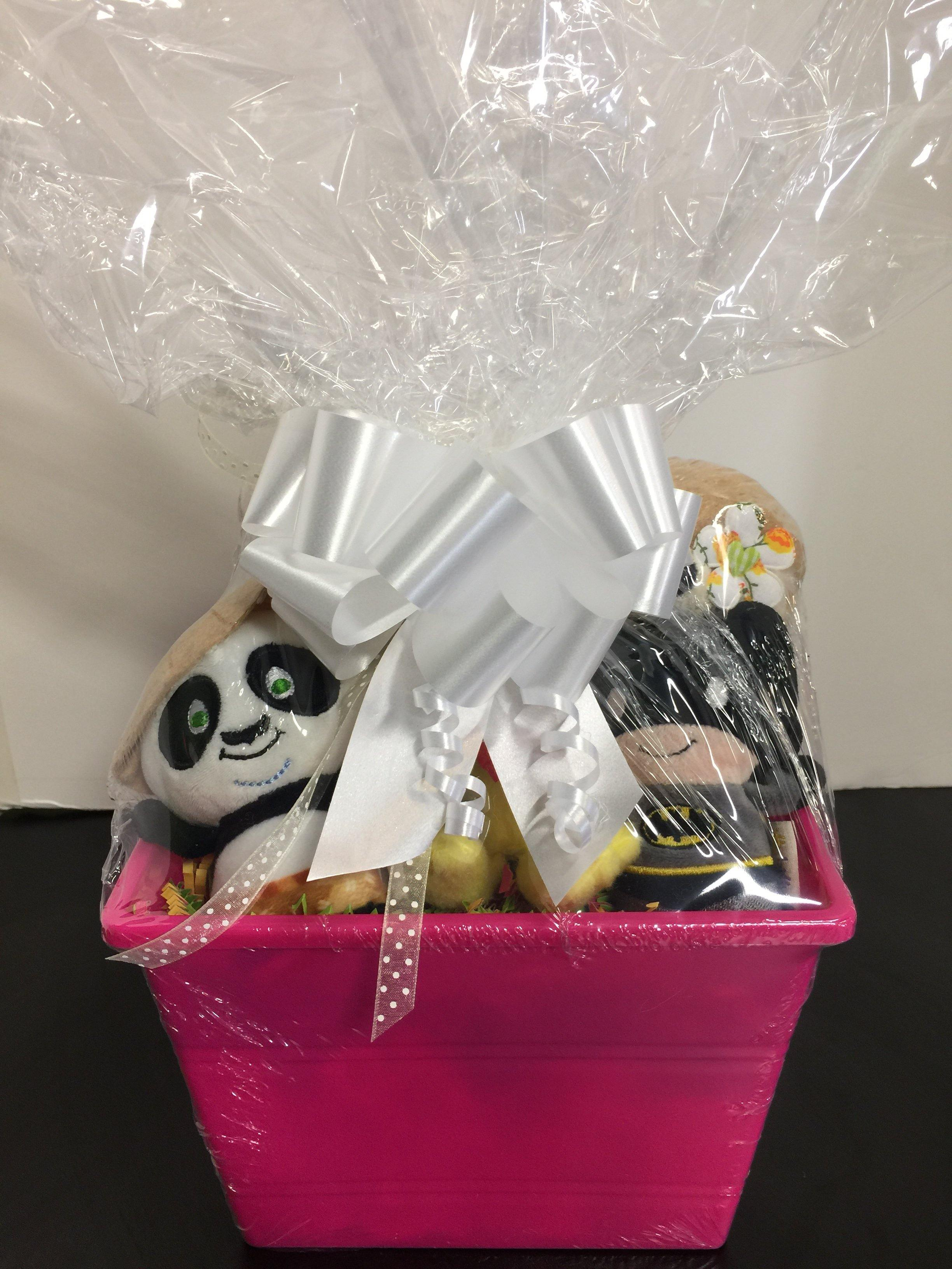 Cat Toy Gift Basket: Choice of Catnip, Noisemaker or Both! - Glad Dogs Nation | www.GladDogsNation.com