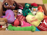 Hearts, Love & Candy SQUEAKY Love 'em Ups for I Have A Dream Rescue Organization