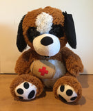 Mini Me Squeaky Breed Dog Toy: St. Bernard