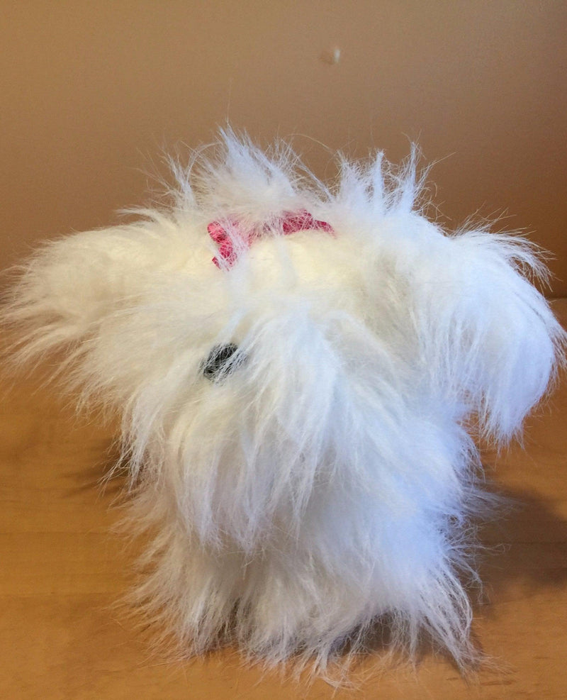 Mini Me Squeaky Breed Dog Toy: Maltese