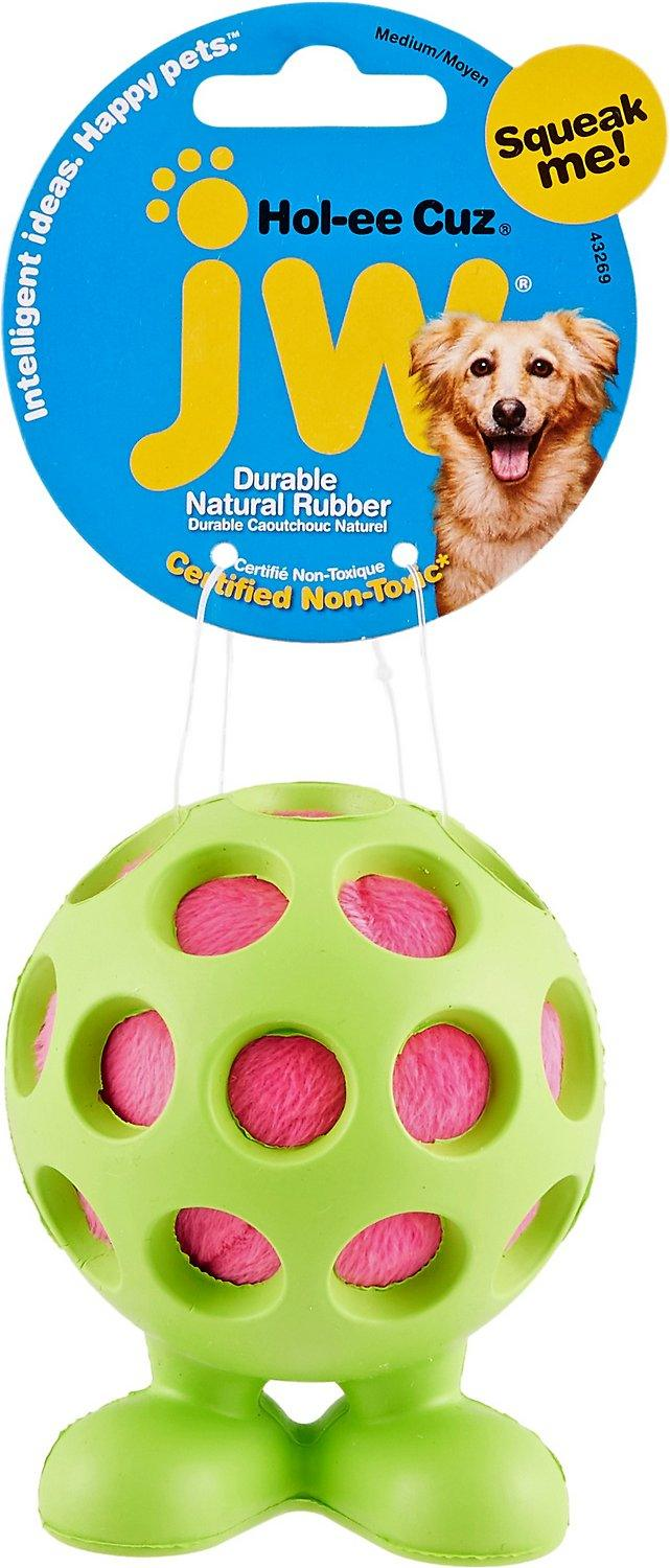 JW Pet Hol-ee Cuz Dog Toy: 2 Sizes
