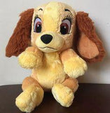 "Medium SQUEAKY 'Toon Town Stuffed Dog Toys: 8""-10"""