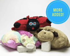 SAVE 50%! Pillow Pals Love 'em Ups: M, L & XL