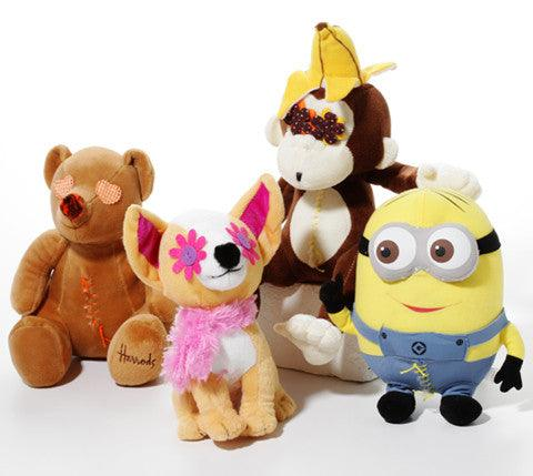 Wish List: Medium SQUEAKY Love 'em Ups: Stuffed for Rescue Garage